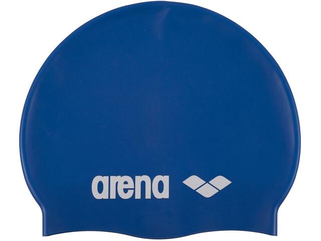arena Classic Silicone - Bonnet de bain Enfant - bleu